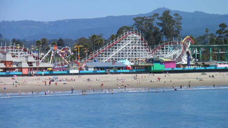 Santa Cruz Beach Boardwalk Tops Usa
