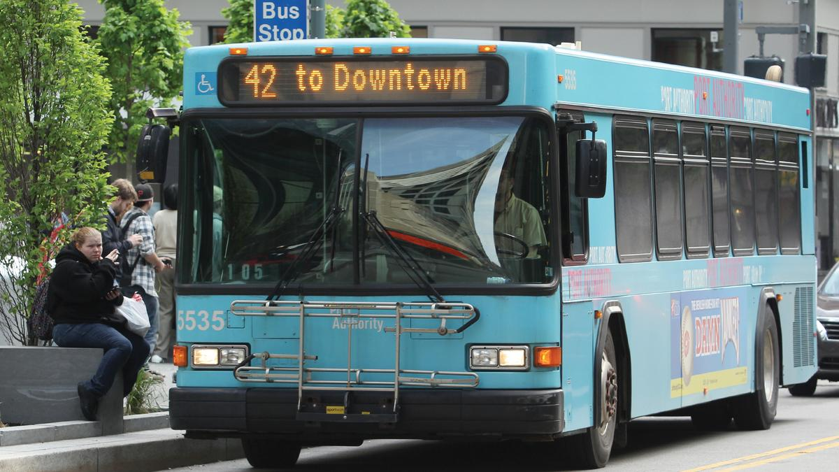 Ura votes to pursue 100 million grant for bus rapid transit plan pittsburgh business times - Pittsburgh port authority ...