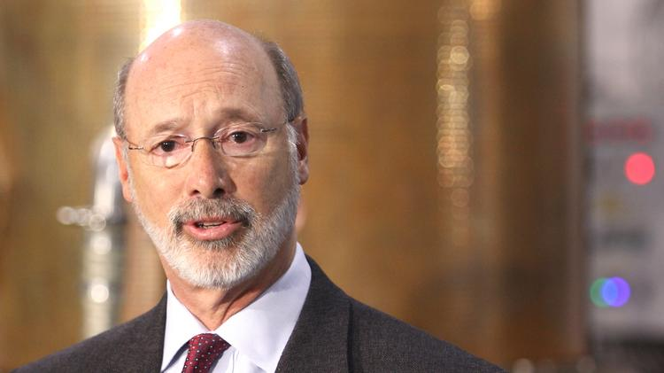Governor Tom Wolf signs executive order to end salary