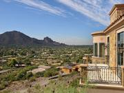 Bob Hassett of Russ Lyon Sotheby's International Realty, the listing agent, says the views are one of the biggest selling points of the home.