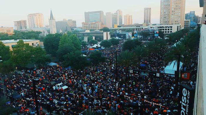 As Jazz Fest fast approaches, do you prefer the festival in Downtown or at the old location in Metro Park?