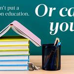 You can't put a price on education; or can you?
