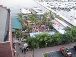 Bay Cafe: Location fabulous, shrimp salad needs salt