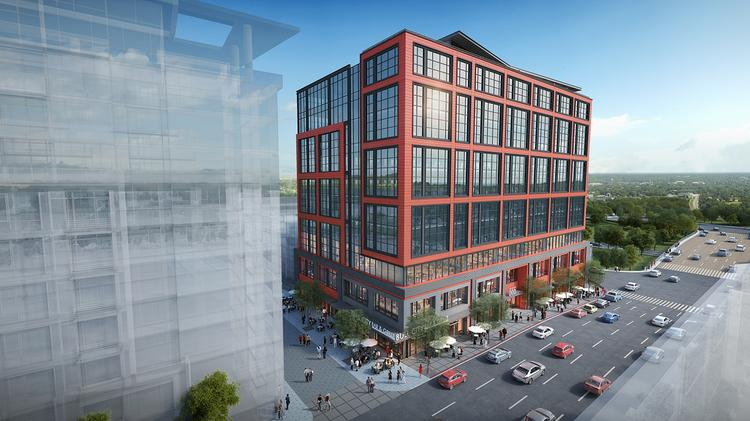 Towers rising: Downtown Durham office building going