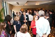 Guests network before the Nashville Business Journal's 2013 Small Business Awards at Loews Vanderbilt Hotel.