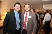 Miles Meibers, left, with Ryan Murphy, both of Conexess Group.