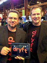 Dryft CEO Randy Marsden and President Rob Chaplinski offer touch screen technology for tablets that helps eliminate typing errors by sensing where your fingers are and figuring out which keys you meant to hit.