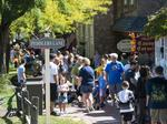 It's a shifting scene at Peddler's Village