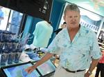 Sealife Artist, Conservationist Guy Harvey dishes on SeaWorld's Mako coaster (Video)