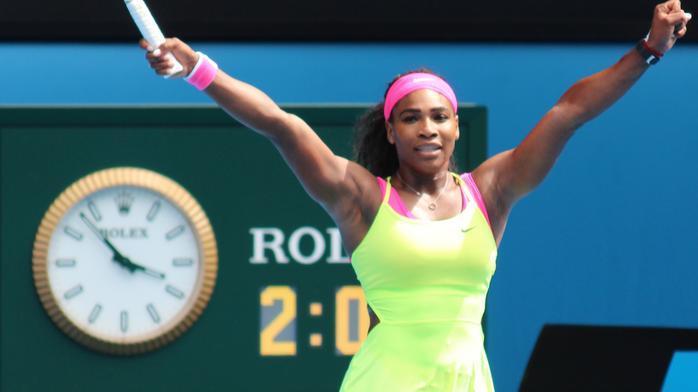 Sports: Serena hits back at McEnroe's grand slam
