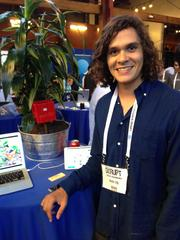 Jason Aramburu, CEO of San Francisco-based Soil IQ, offers a device that tells users everything they need to know about the soil in their garden and what to grow there. It even connects them to other gardeners for advice.