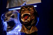 Masks from the American Werewolf in London maze.