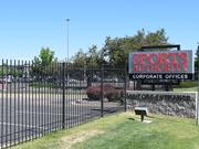 Sports Authority's corporate headquarters campus in Englewood, Colorado