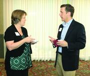 Toni Kellar of Newton Consulting and Clint Zediak of PPL EnergyPlus.