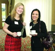 Kelly Sorice, left, of MedExpress, and Tess Harper of Blumling & Gusky LLP.